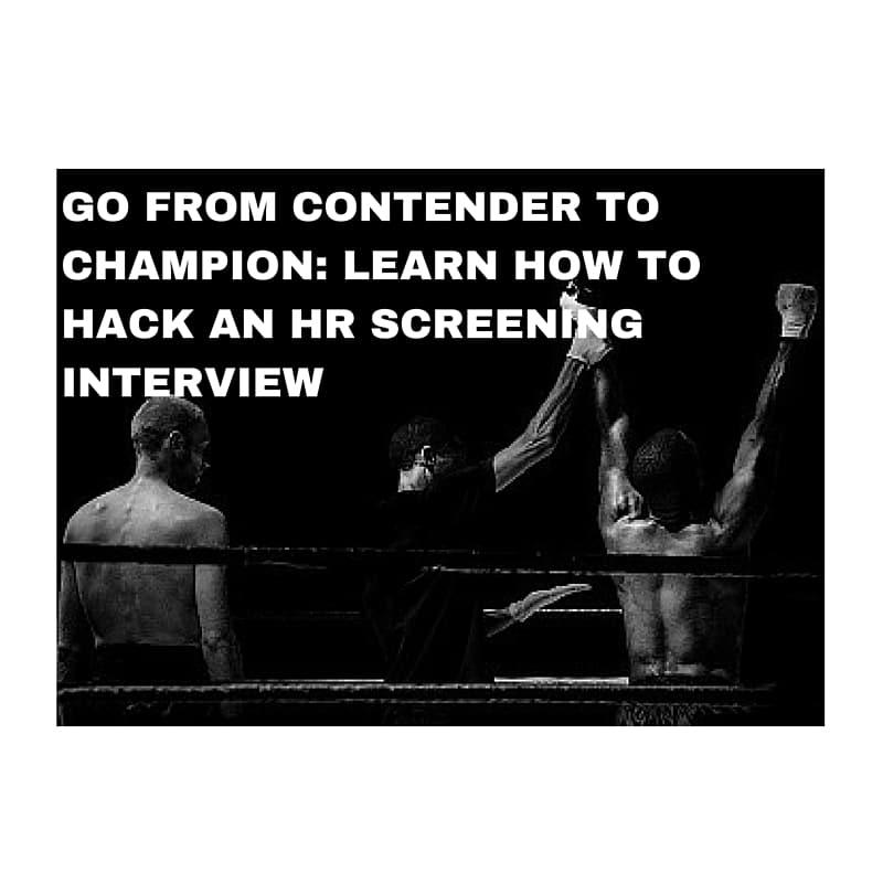 hr screening interview