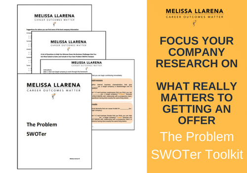 The Pre-Interview Company Research Tool: The Problem SWOTer