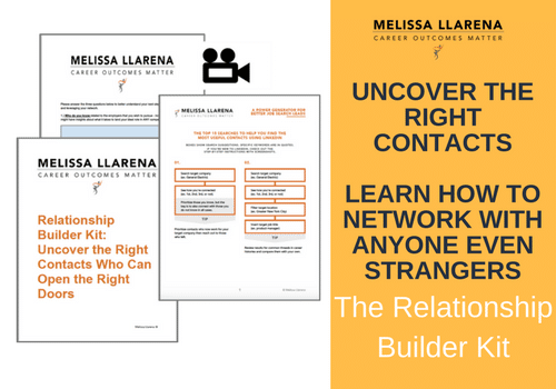 Relationship Builder Kit: Uncover the Right Contacts Who Can Open the Right Doors