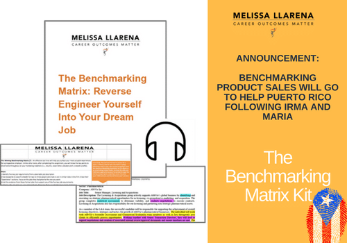Benchmarking Matrix: Reverse Engineer Yourself Into Your Dream Job