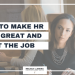 How to make HR look great and get the job [Facebook LIVE Episode #28: Round One Interview w/HR]